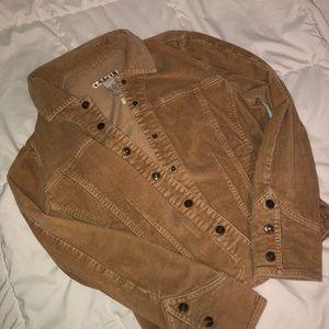 Jackets & Blazers - Corduroy Tan Jacket